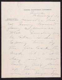 Letter from Mary Woolley to Jeannette Marks, 1932 February 6