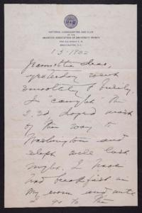 Letter from Mary Woolley to Jeannette Marks, 1932 January 5