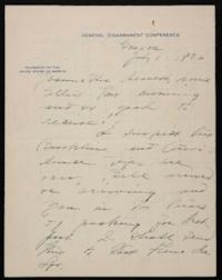 Letter from Mary Woolley to Jeannette Marks, 1932 July 1