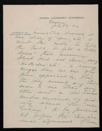 Letter from Mary Woolley to Jeannette Marks, 1932 July 16