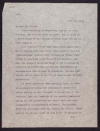 Letter from Mary Woolley to Jeannette Marks, 1932 June 13
