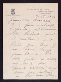 Letter from Mary Woolley to Jeannette Marks, 1932 March 19