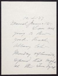 Letter from Mary Woolley to Jeannette Marks, 1937 December 4
