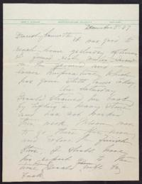 Letter from Mary Woolley to Jeannette Marks, 1937 December 8