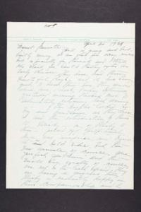 Letter from Mary Woolley to Jeannette Marks, 1939 April 30