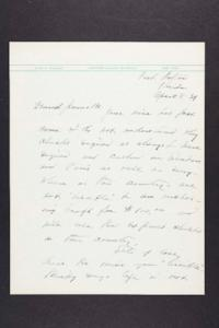 Letter from Mary Woolley to Jeannette Marks, 1939 April 8
