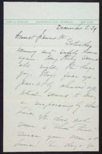 Letter from Mary Woolley to Jeannette Marks, 1939 December 2