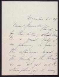 Letter from Mary Woolley to Jeannette Marks, 1939 December 31