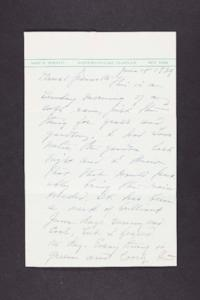 Letter from Mary Woolley to Jeannette Marks, 1939 June 4
