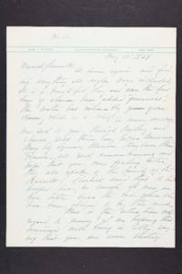 Letter from Mary Woolley to Jeannette Marks, 1939 May 11