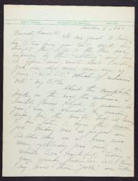 Letter from Mary Woolley to Jeannette Marks, 1940 October 6