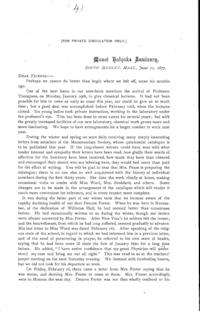 Printed Journal Letter 4: June 11, 1877