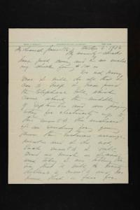 Letter from Mary Woolley to Jeannette Marks, 1938 October 3