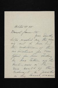 Letter from Mary Woolley to Jeannette Marks, 1938 October 18