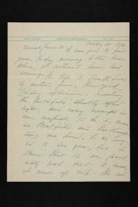 Letter from Mary Woolley to Jeannette Marks, 1938 October 30