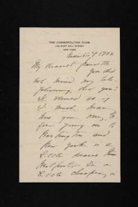 Letter from Mary Woolley to Jeannette Marks, 1938 November 7