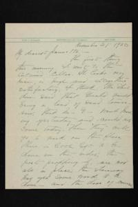 Letter from Mary Woolley to Jeannette Marks, 1938 November 21