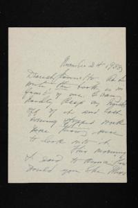 Letter from Mary Woolley to Jeannette Marks, 1938 November 24