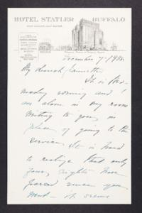 Letter from Mary Woolley to Jeannette Marks, 1938 December 7