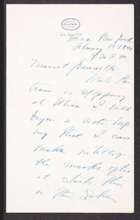 Letter from Mary Woolley to Jeannette Marks, 1941 February 15