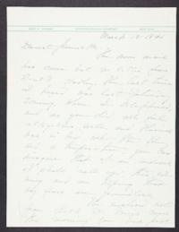 Letter from Mary Woolley to Jeannette Marks, 1941 March 13