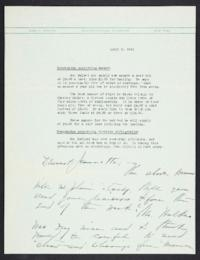 Letter from Mary Woolley to Jeannette Marks, 1941 April 1