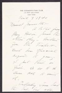 Letter from Mary Woolley to Jeannette Marks, 1941 April 7