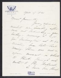 Letter from Mary Woolley to Jeannette Marks, 1941 April 17