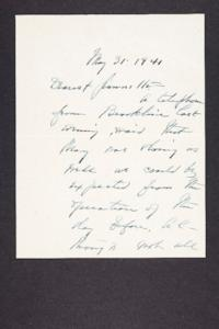 Letter from Mary Woolley to Jeannette Marks, 1941 May 31