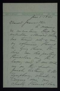 Letter from Mary Woolley to Jeannette Marks, 1941 June 1
