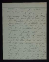 Letter from Mary Woolley to Jeannette Marks, 1941 June 7