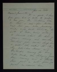 Letter from Mary Woolley to Jeannette Marks, 1941 June 12
