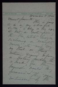 Letter from Mary Woolley to Jeannette Marks, 1941 December 3