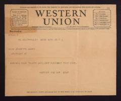 Letter from Mary Woolley to Jeannette Marks, 1942 September 6