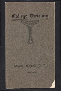 Mount Holyoke College Directory, 1903-1904