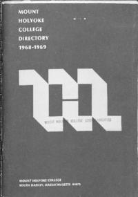 Mount Holyoke College Directory, 1968-1969