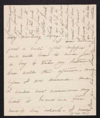 Mary Augusta (Ferris) Woolley autograph letter signed to Mary Emma Woolley, 1901 September 17