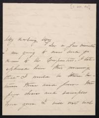 Mary Augusta (Ferris) Woolley autograph letter signed to Mary Emma Woolley, 1901 October 11