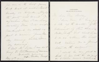 Helen Miller Gould Shephard autograph letter signed to Mary Emma Woolley, 1902 May 19