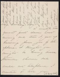Mary Augusta (Ferris) Woolley autograph letter signed to Mary Emma Woolley, 1904 June 4