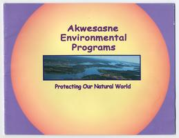 Cover of the Akwesasne Environmental Programs booklet