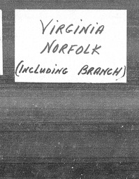 Virginia YWCA of the U.S.A. records, Record Group 11. Microfilmed central files