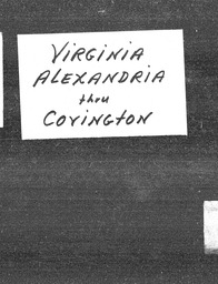 Virginia YWCA of the U.S.A. records, Record Group 11. Microfilmed headquarters files