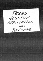 Texas YWCA of the U.S.A. records, Record Group 11. Microfilmed headquarters files