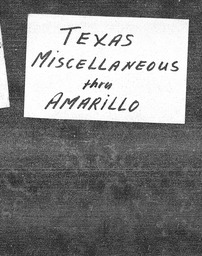 Texas YWCA of the U.S.A. records, Record Group 11. Microfilmed central files