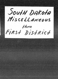 South Dakota YWCA of the U.S.A. records, Record Group 11. Microfilmed headquarters files