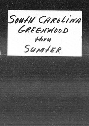 South Carolina YWCA of the U.S.A. records, Record Group 11. Microfilmed headquarters files