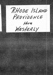 Rhode Island YWCA of the U.S.A. records, Record Group 11. Microfilmed central files