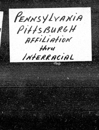 Pennsylvania YWCA of the U.S.A. records, Record Group 11. Microfilmed central files