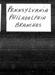 Pennsylvania YWCA of the U.S.A. records, Record Group 11. Microfilmed headquarters files